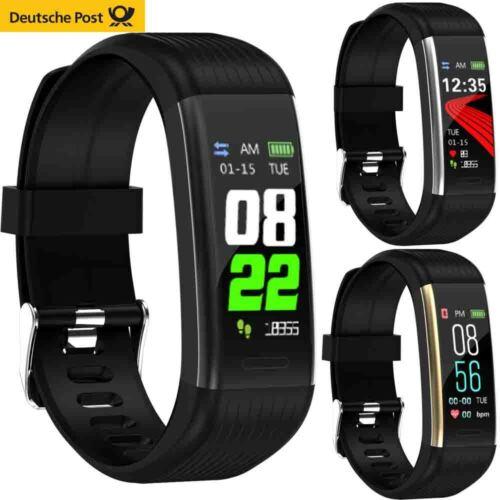 IP67 Smartwatch Armband Schrittzähler Pulsuhr Blutdruck Sport Fitness Tracker