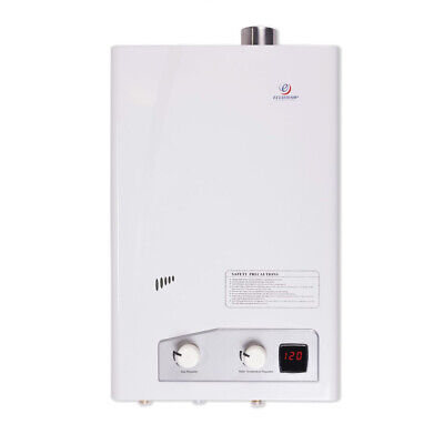 Eccotemp Fvi12-lp Indoor Liquid Propane Powered Tankless Water Heater White