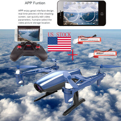 Udi U28w Rc Quadcopter Drone Wifi Fpv 2 4G 4Ch Headless With Hd Camera Rtf Usa