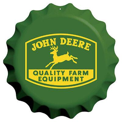 John Deere Sign - Bottle Cap Vintage Logo