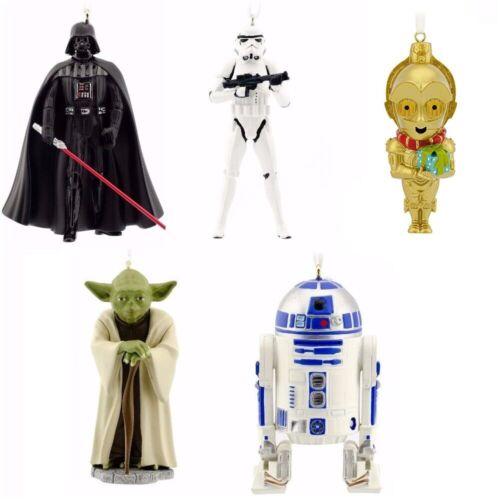 2015 Hallmark Star Wars Christmas Ornaments Set of 5 Decorations Limited Ed. NEW