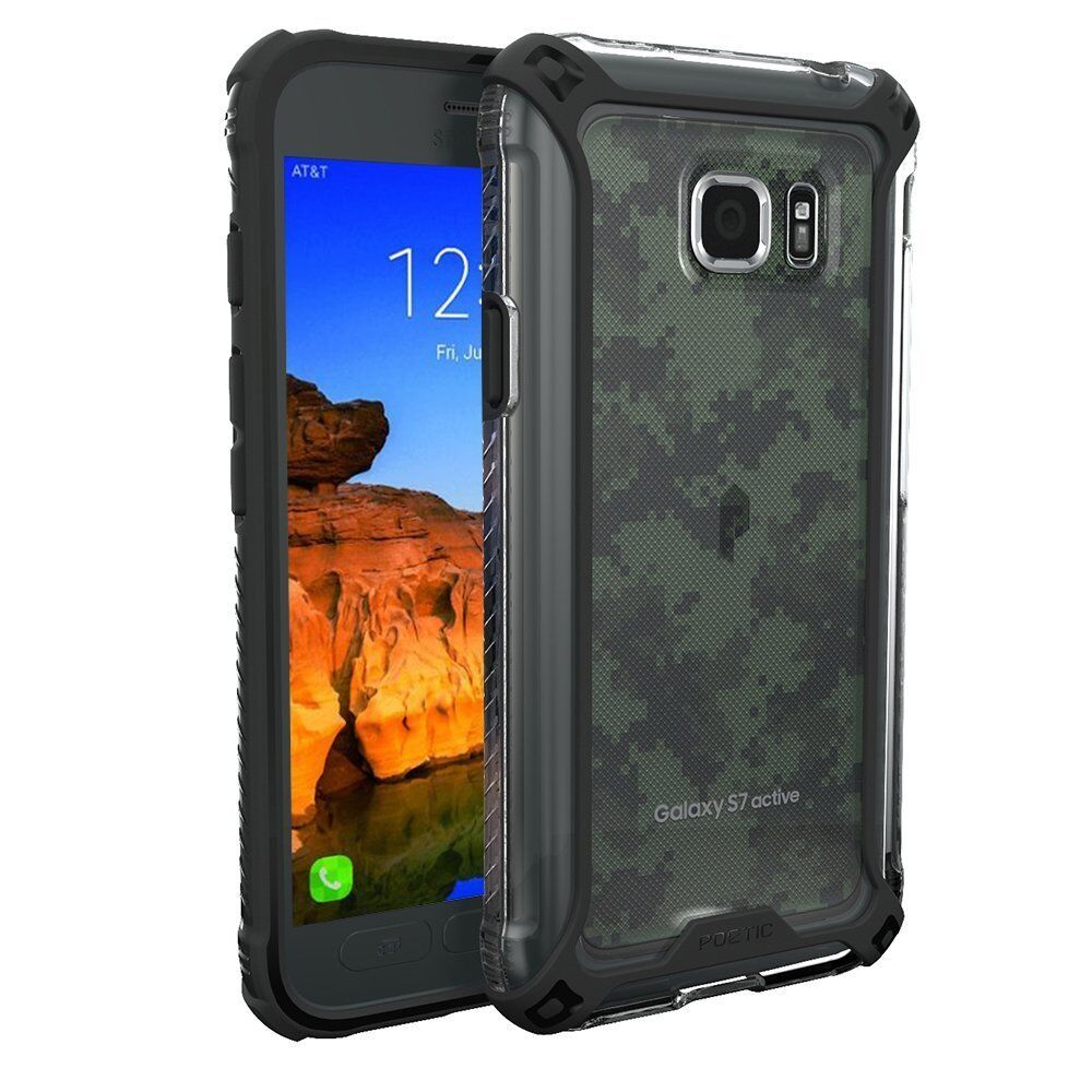 For Samsung Galaxy S7 Active Case Poetic Shockproof TPU Cove