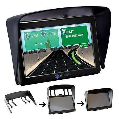"7"" Sun Shade Glare Vision Shield for GPS Garmin Dezl 760LMT Nuvi 2757LM 2797LMT"