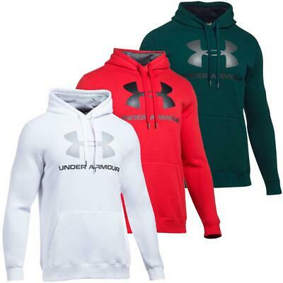 Fleece Sweat (Under Armour Rival Fleece Fitted Graphic Hoodie Sweatshirt Kapuzenpullover Pulli)