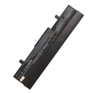 6 Cell Battery for Asus Eee PC ML32-1005 TL31-1005 TL32-1005 990AAS168288 Black