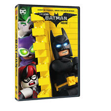 The LEGO Batman Movie (DVD, 2017) Ships within 1 Business Day with Tracking!!