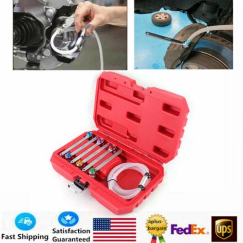 6x 6-12mm Brake Oil Clutch Bleeder Wrench Brake Sub-Pump Free Wrench Kit Durable