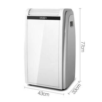 4 in 1 Portable Air Conditioner 71L - White