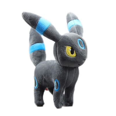 "Pokemon GO Shiny Umbreon Evolution Eevee Figure Plush 7"" Kids Toy Stuffed Doll"