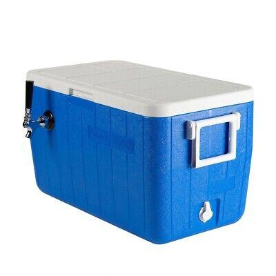 Single Faucet Jockey Box - 50 Coil - Faucet Hardware Kit