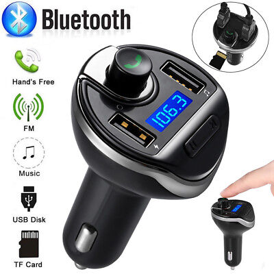 Bluetooth FM Transmitter MP3 Player Musik Radio Adapter 2 USB Bluetooth Car Kit Car Kit Mp3-player