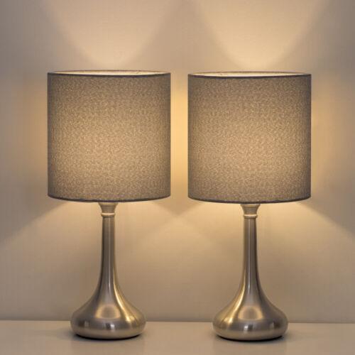 2 Sets/PCS HAITRAL Table Lamp Modern Desk Bedside Lights Fab