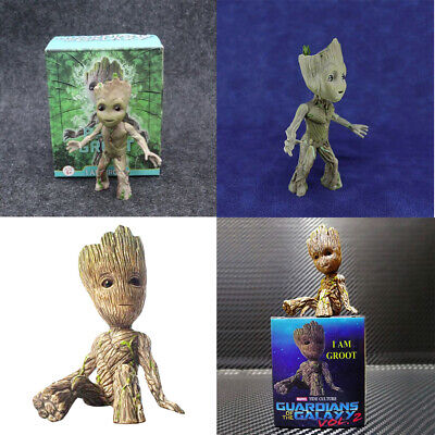 Guardians of the Galaxy Vol. 2 Baby Groot Mini Figure Figurine Toys Gift Set