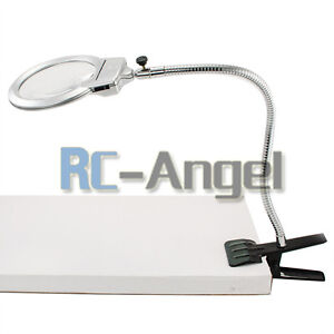 Clamp On Magnifying Lamp Ebay