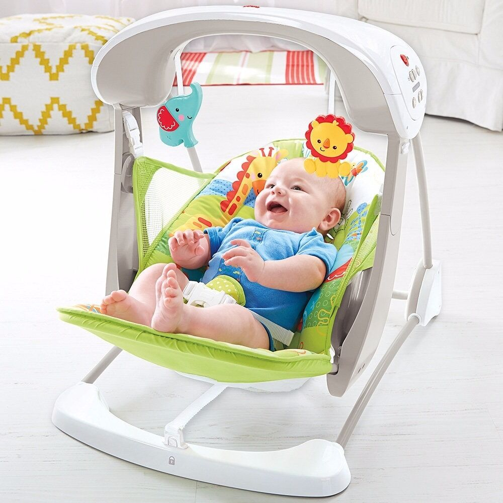 Fisher Price Rainforest Friends Take Along Swing Amp Seat