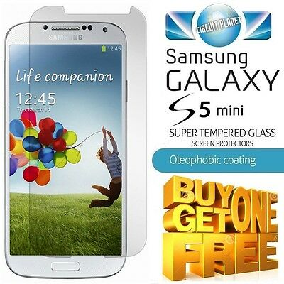 100% GENUINE TEMPERED GLASS SCREEN PROTECTOR FOR SAMSUNG GALAXY S5 MINI G800F