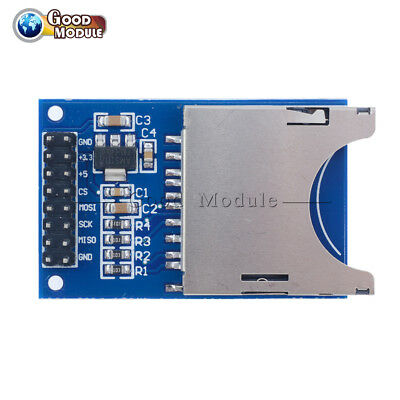Sd Card Module Slot Socket Reader For Arduino Arm Mcu Read And Write Gm