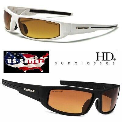 XLOOP HD SPORT NIGHT DRIVING VISION SUNGLASSES POLYCARB. HIGH DEFINITION (Sunglasses Night Driving)