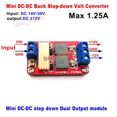 Dc-dc Dual Output Regulator 14v-30v 18v 24v To Dc 12v Buck Step Down Converter