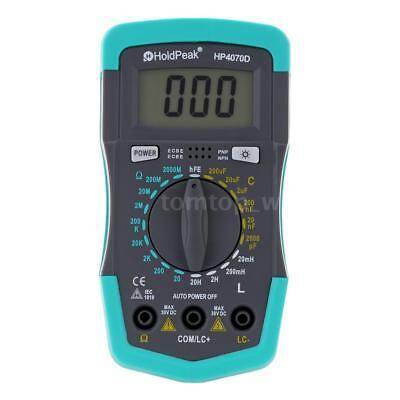 Holdpeak Hp4070d Digital Multimeter Resistance Capacitance Inductance Lcr Meter