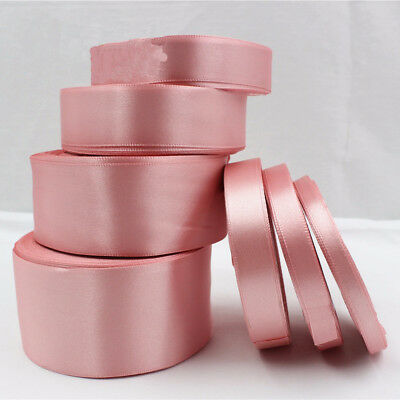 25 Yards Pink Satin Ribbon Wedding decorative ribbons gift wrap DIY handmade](Pink Gift Wrap)