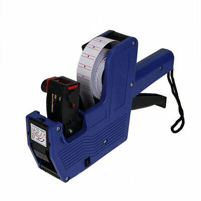 Mx-5500 8 Digits Price Tag Gun Ink Blue