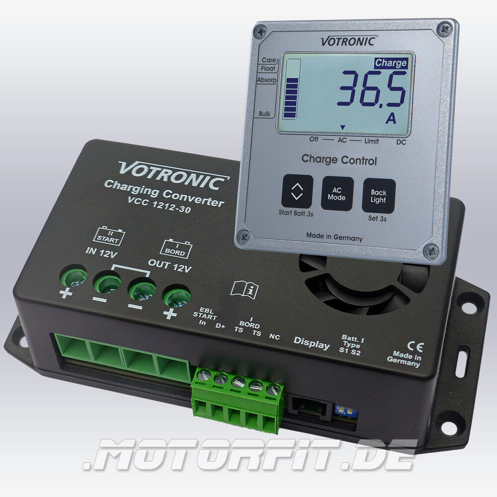 Fernbedienung LCD-Charge Control S-VCC