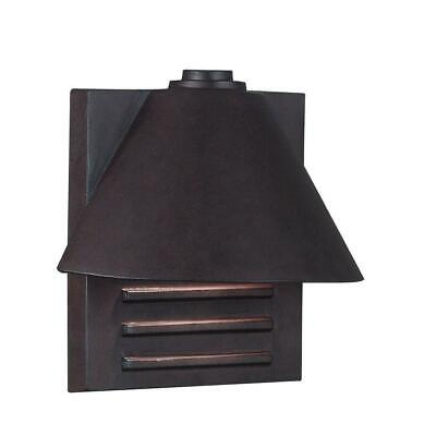 Kenroy Home Fairbanks Copper Outdoor Wall-Mount Small Lantern Copper Small Outdoor Wall