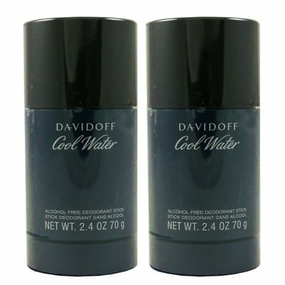 Davidoff Cool Water Man - Men 2 x 75 ml Deostick Alkoholfrei Alcohol free