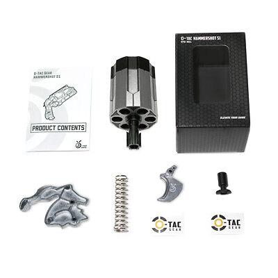 Orange Mod Works Hammershot Mod Kit 6-shot Cylinder, 8kg Spring, Trigger/Hammer+