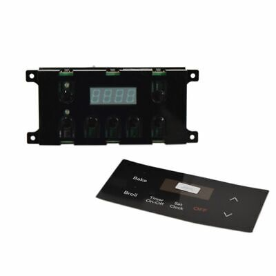 318185330 Frigidaire Clock Black Es100 Genuine OEM 318185330