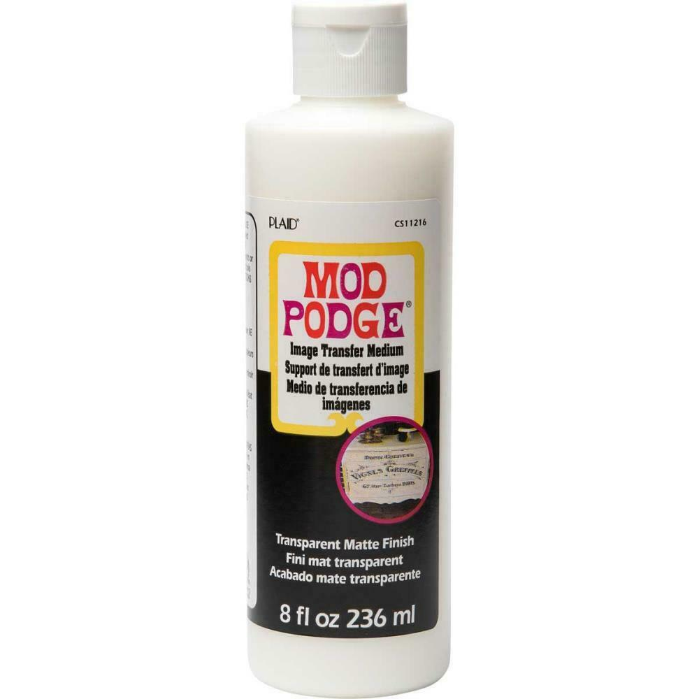 Mod Podge Image Transfer Medium - Transfer photos to wood, glass, metal and more