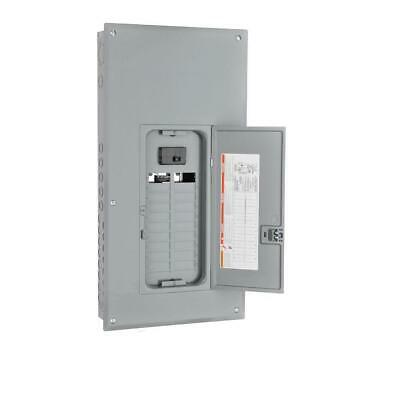 Square D Main Breaker Box 100 Amp 20-space 40-circuit Cover Load Center