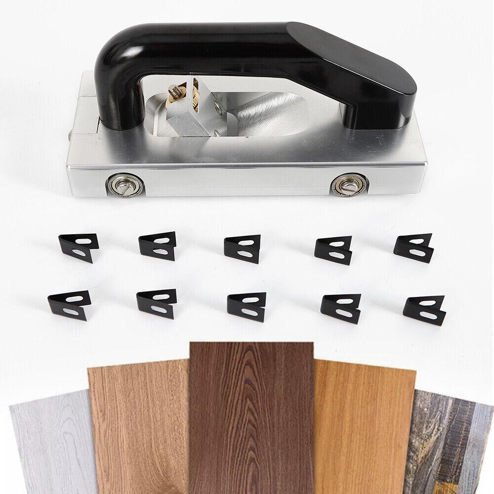 Slotting Pull Hand Tool Wheeled Groover Grooving PVC Vinyl