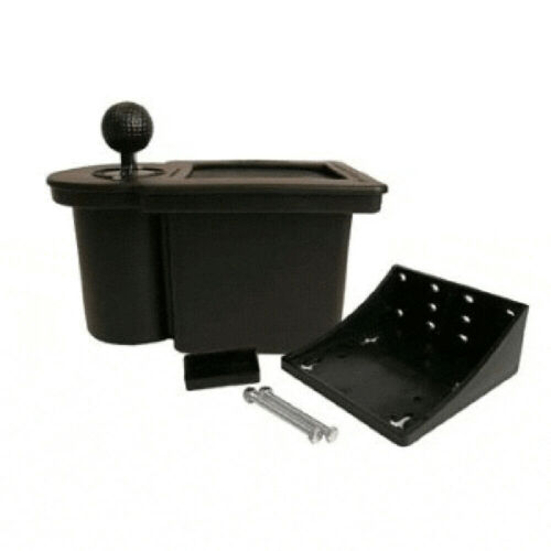 CLUB CLEAN Golf Cart Club & Ball Washer - Black (Universal Fit)