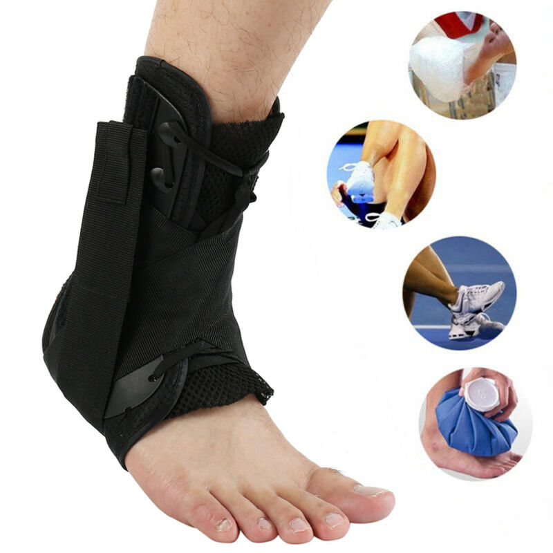 ankle brace hinged support guard sports basketball