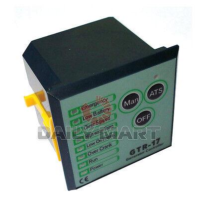 New Generator Controller Gtr-17 Genset Parts Auto Start Stop Function