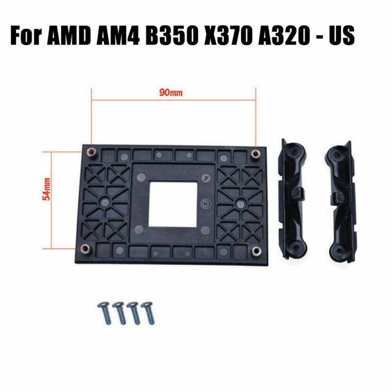 Cool CPU Socket Mount Fan Heatsink Bracket Dock For AMD AM4 B350 X370 A320 - US