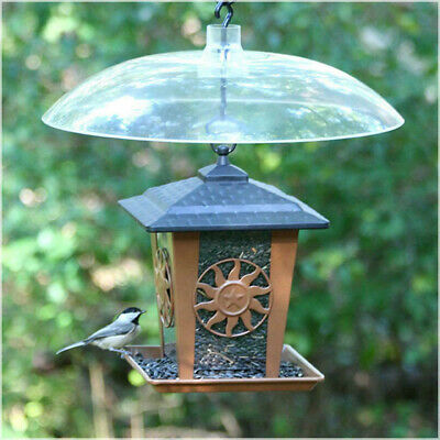 16 Inch Outdoor Hanging Transparent Squirrel Baffler For Wild Bird Feeder, used for sale  USA