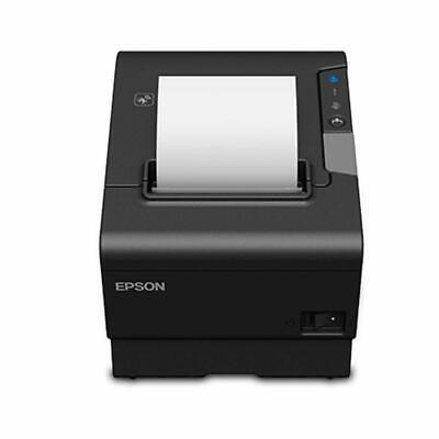 Epson Tm-t88vi 061 Thermal Pos Receipt Printer Ethernet Usb W Power Supply