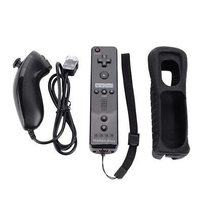 Für Nintendo Wii Original Romote Motion Plus Controller Nunchuck Schutzhülle
