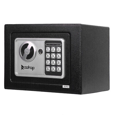 New Durable Digital Electronic Safe Box Keypad Lock Home Office Hotel Cash Us