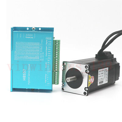 Nema23 3nm Dsp Closed-loop Stepper Motor Hybrid Servo Driver Kit For Cnc Router