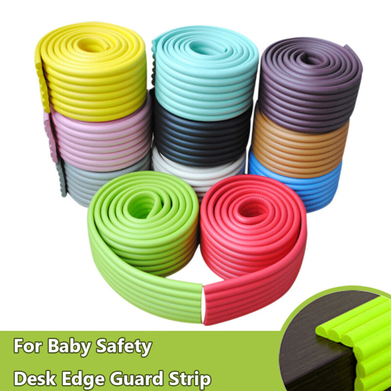 Baby Safety Desk Table Edge Corner Protector Cushion Guard Strip Soft Bumper Wrd