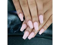 Acrylic Nails with gel Special Offer £28.00 for a