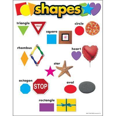 Shapes Chart (Shapes Learning Chart Trend Enterprises Inc.)