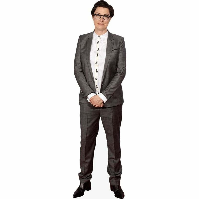 Sue Perkins (Suit) Mini Cutout