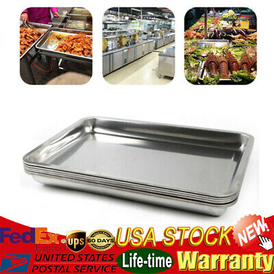 6pack 2 Deep Stainless Steel Steam Table Pans For Hotel Cooking 8.9 Quarts
