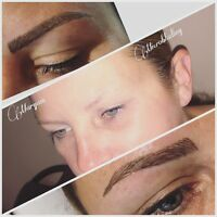 MICROBLADING EYEBROWS ($279 only by the end of December)