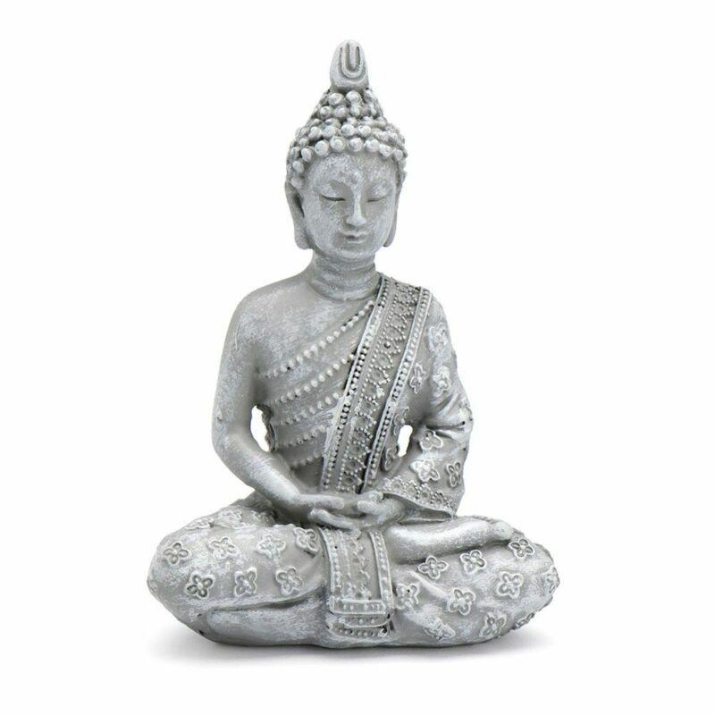 Miniature Fairy Garden Zen Meditating Thai Buddha - Buy 3 Save $5